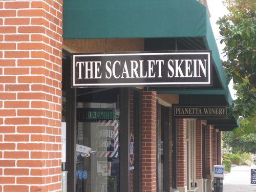 Scarlet skein