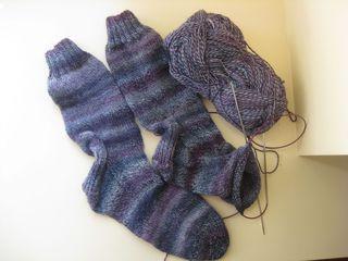 Purple sock wip