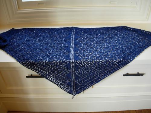 Charlotte's Web shawl