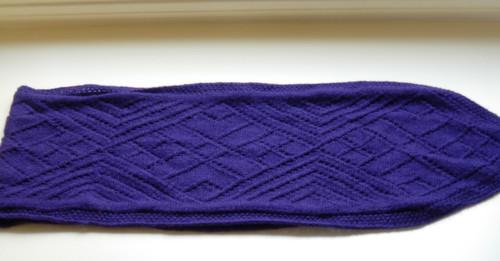 Close up of Faina's scarf