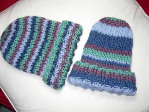 striped hats