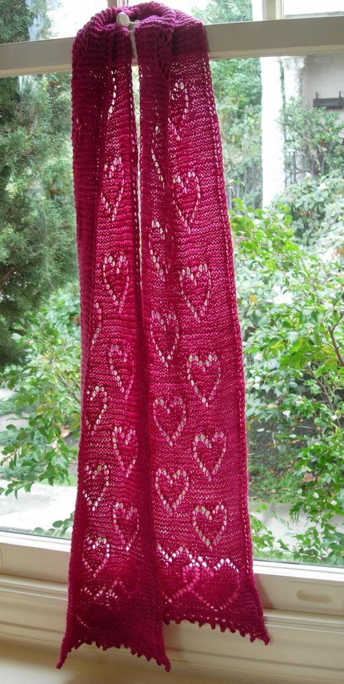 Falling In Love scarf