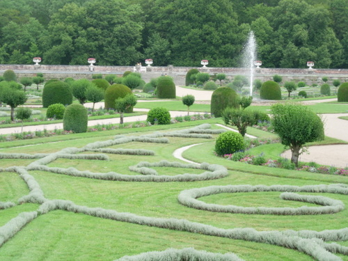 Garden at Chenonceaux