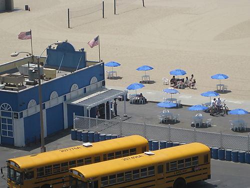 Santa Monica beach, July 2008